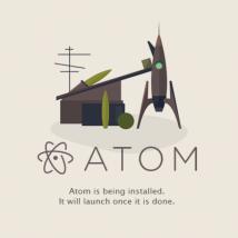 Atomエディタ